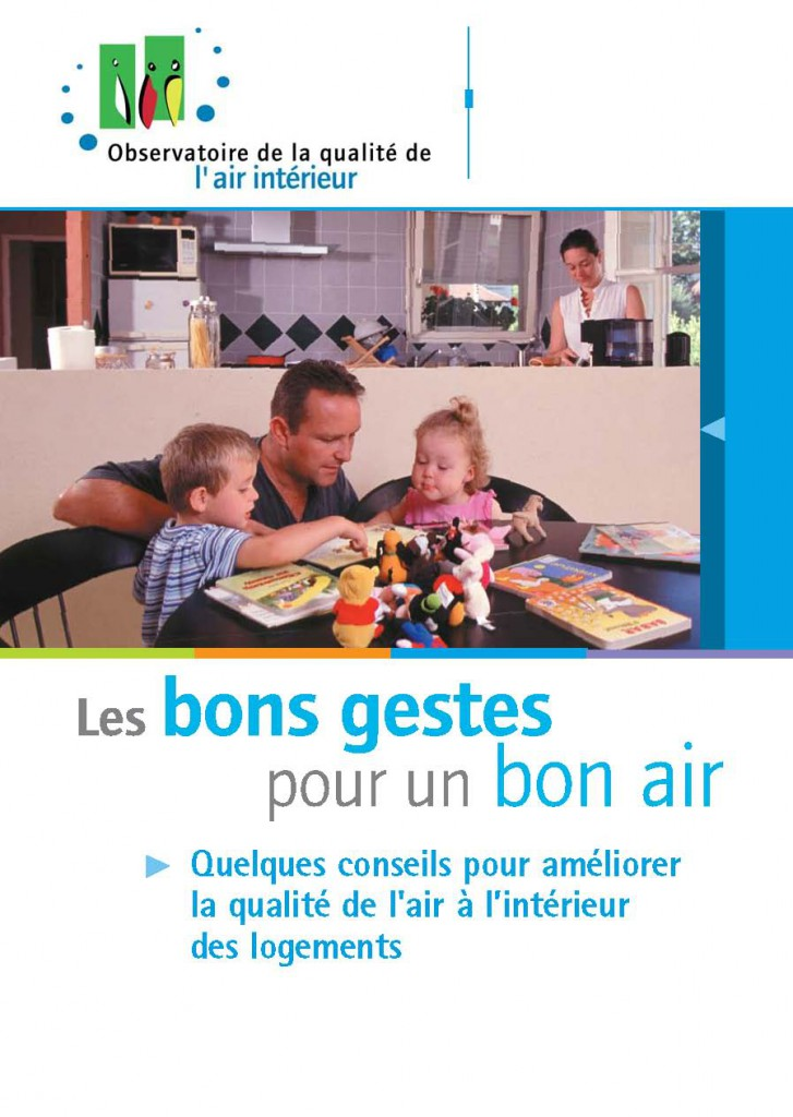 Qualit de l air int rieur ne tournons pas en ridicule for Mesure qualite air interieur