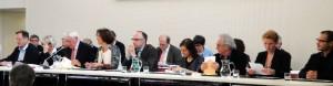 Installation Conseil Mpal-4 avril 2014-11- La table des ajoints presque complète