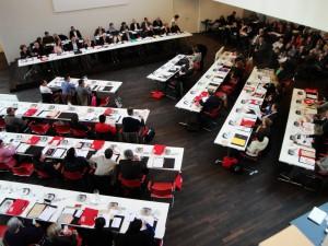 Installation Conseil Mpal-4 avril 2014-12- La nouvelle salle du Conseil, vue générale